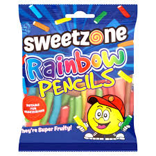 Sweet Zone Rainbow Pencils (90g)