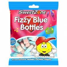 Sweet Zone Fuzzy Blue Bottles (90g)
