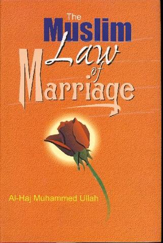 Muslim Law of Marriage