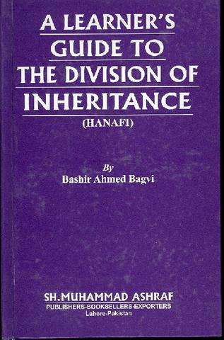 A Learner's Guide to the Division of Inheritance
