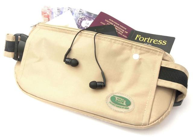 Anti-Theft Waist Bag and Ihram Belt